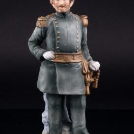 Фигурка из фарфора Генерал-майор армии США в форме 1871 года, Lefton, Япония,, вт. пол. 20 в.