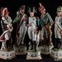 Фарфоровая фигурка Император Наполеон, Di Pietro, Capodimonte, Италия.