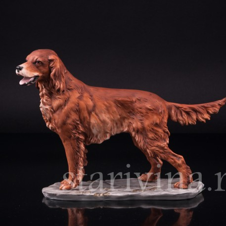 Фарфорвая статуэтка собаки Сеттер, Alka Kaiser, Германия, вт. пол. 20 в.